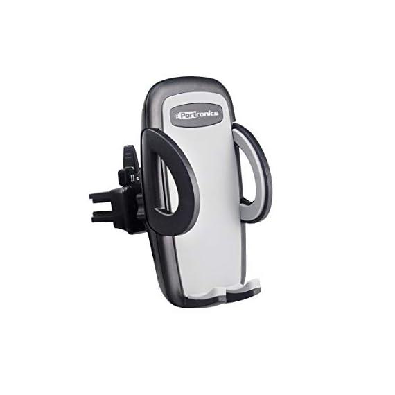 Portronics CLAMP X POR-926 Car-Vent Mobile Holder (Black) 1
