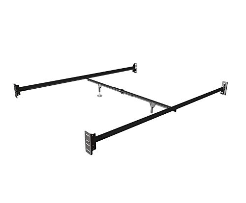 Metal Queen Size Conversion Kit Bed Rails for Select Baby's Dream Cribs