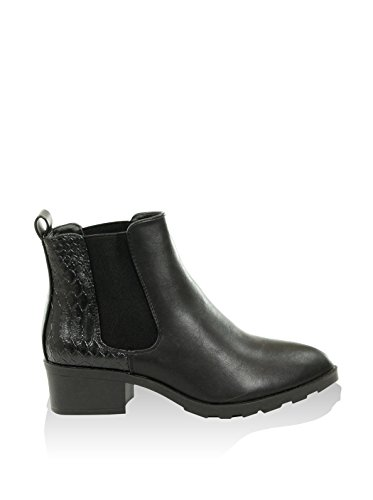 CATISA Damen Chelsea Boot schwarz