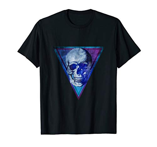 Third Culture: Abstract Skull Space Universe Triangle TShirt ()