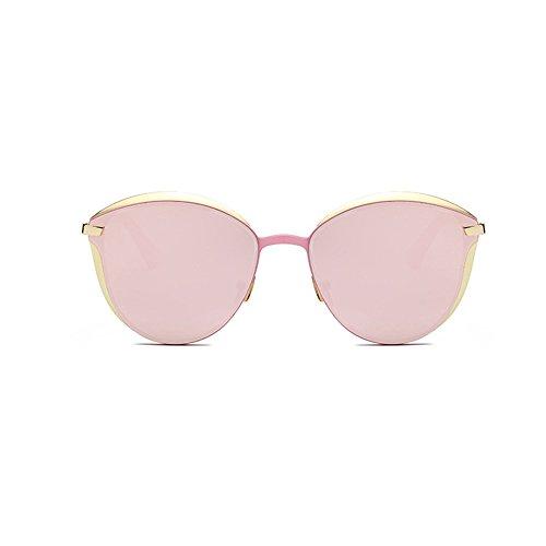 Gafas Sol Pink Retro Redondo Pink Desfile De Estrella De MURMURE con París Moda Párrafo El 1wp5TtUpq