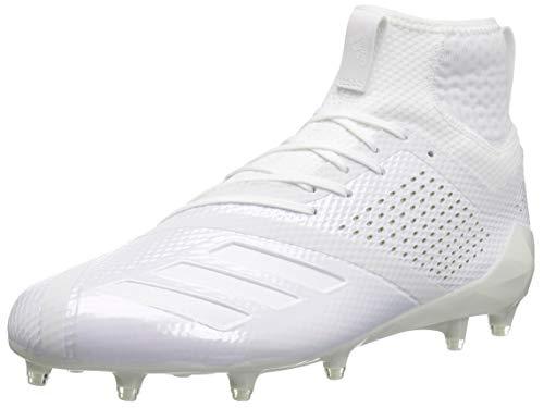 wholesale dealer 167f3 f197a Galleon - Adidas Mens Adizero 5-Star 7.0 SK Football Shoe, White, 10.5 M US