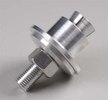 (Great Planes Collet Prop Adapter 8.0mm Input to 3/8x24 Output GPMQ4971 )
