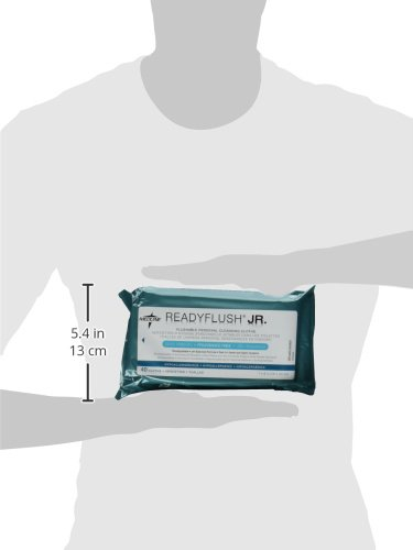 Amazon.com: ReadyFlush Jr Personal Cleansing Flushable 7x8 Wipes - 3 Packs - Fragrance Free: Health & Personal Care