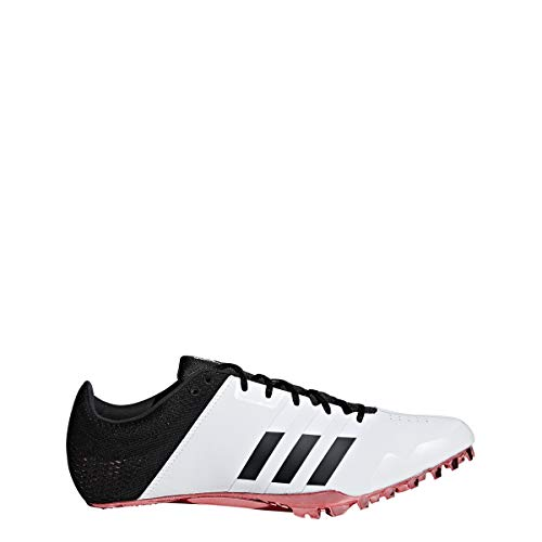 adidas Adizero Finesse Spike Shoe - Unisex Track & Field 5.5 White/Core Black/Shock Red ()