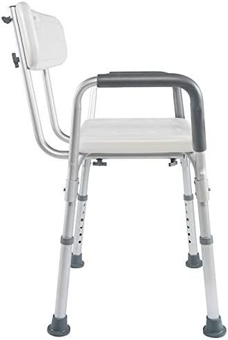 Vaunn Medical ToolFree Assembly Spa Bathtub Shower Lift Chair Portable Bath Seat Adjustable Shower