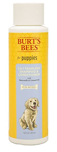 Burt's Bees Tearless 2 in 1 Shampoo and Conditioner for Puppies, 16 Ounces