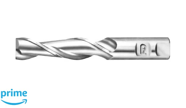 F/&D Tool Company 17132-AT710 Two Flute for Aluminum Single End 5//16 Mill Diameter High Speed Steel Long 3.125 Overall Length 3//8 Shank Diameter 1.375 Flute Length