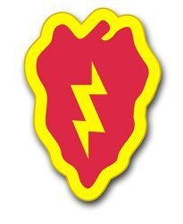 25th infantry division decals - 7