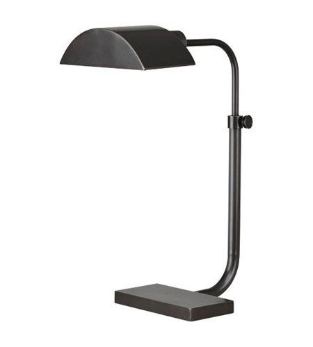 Robert Abbey Z460 Lamps with Metal Shades, Deep Patina Bronze Finish (Bronze Abbey Swing Arm)