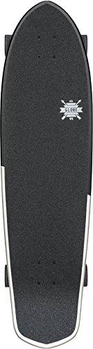 GLOBE Skateboards Blazer XL Longboard Complete Skateboard, Black/White/Uhhhmaze