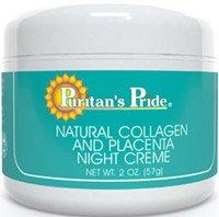 Collagène naturel et Placenta Nuit Creme- 2 oz.-Crème