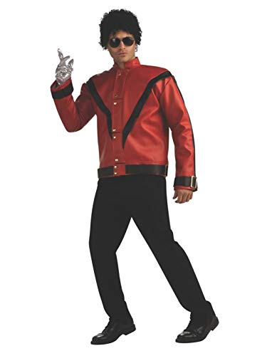 Michael Jackson Deluxe Thriller Jacket, Red, Medium Costume]()