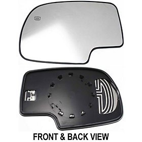Tahoe Suburban Escalade Gmc Yukon Xl Denali 00 - 06 Power Heated Mirror Glass Lh