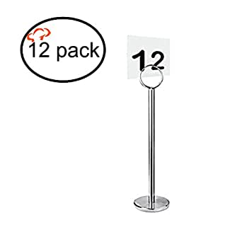 Tigerchef tc 20195 table number card menu for 12 days of christmas table numbers