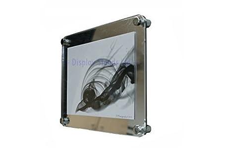 Stylé moderne acrylique photo certificat cadre a en couleurs