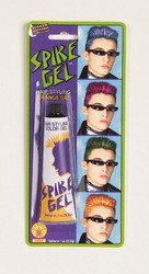 (Rubie's Costume Co. 19507 Neon Blue Spike Hair Gel Costume, One Size, Multicolor (Pack of)