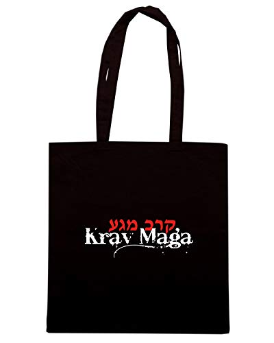 Speed Shirt Borsa Shopper Nera TAM0105 KRAV MAGA