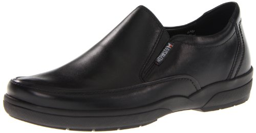 ALLROUNDER by MEPHISTO Men's Adelio Slip-On,Black Charles,8 M US by Allrounder by Mephisto
