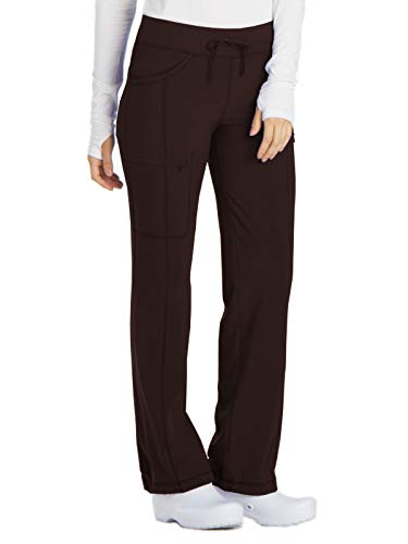 Cherokee Infinity 1123A Low Rise Drawstring Pant Espresso XS ()