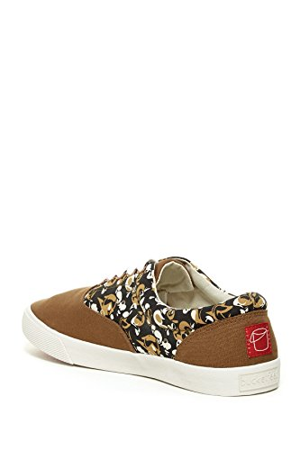 BucketFeet Mens Virtue Canvas Lace-Up 11
