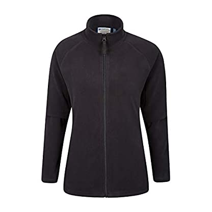 Mountain Warehouse Raso Womens Fleece - Microfleece Ladies Sweater Top, Breathable Baselayer, Soft Touch, Warm - Best… 1