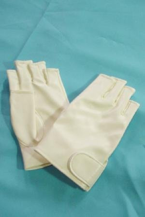 Lesbian white glove finger size L W-CS80-008-WH-L (japan import) by Riara