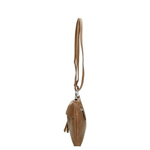 Beagles Bolso de mano marrón topo 16074 - 016