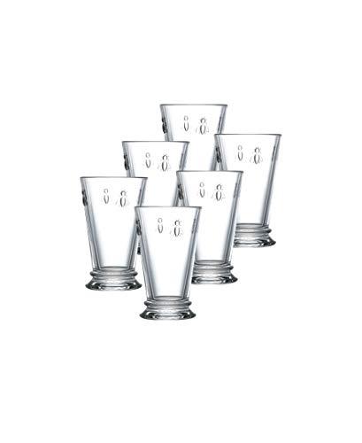La Rochere Set Of 6, 11.5-ounce Napoleon Bee Double Old Fashioned Glasses ()