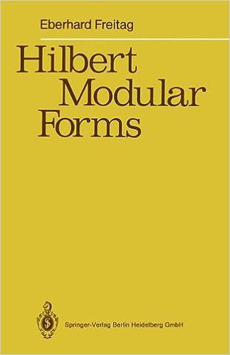 Gratis download e bog Hilbert Modular Forms 3540505865 PDF