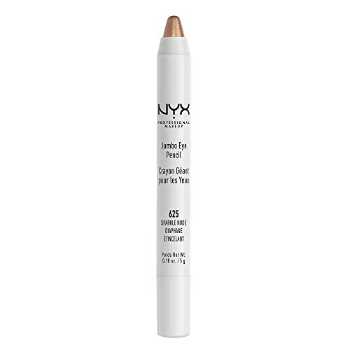 NYX Professional Makeup Jumbo Eyeliner Pencil, Sparkle Nude, 1 Count (Dark Shadows In The Corner Of My Eye)