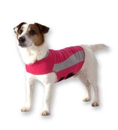ThunderShirt Polo Dog Anxiety Jacket Pink Small