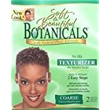 SOFT & BEAUTIFUL Botanicals with Natural Plant Extracts No-Lye No Mix Texturizer for Sensitive Scalps COARSE (Quantity: 2 Applications) by Soft & Beautiful