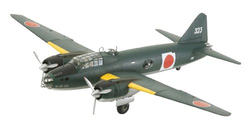 Tamiya 300061110 - 1: 48 WWII Mitsubishi G4 M1 Model 11 (17), Airplane
