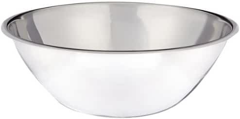 Crestware MB04 4 qt Stainless Steel Mixing Bowl