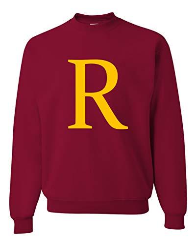 Allntrends Adult Sweatshirt R Harry Christmas Cute Fans Xmas Party (S, Cardinal Red) (Meme Christmas Harry Potter)