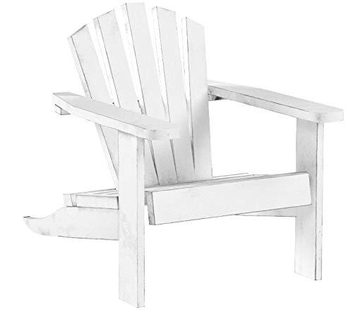 48 Mini Adirondack Chairs Miniature Furniture Mini White Wedding Favors by Timeless Minis
