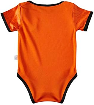 LAMCE Baby Jumpsuit Soccer Nation Team for Fans Onesies
