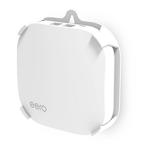MYRIANN Wall Mount Holder for eero Pro Wifi System (1 Pack) Wall Mount Bracket Ceiling Holder for eero Home Wifi,White