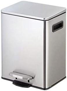 滑らかな表面 ビン、メタルソリッドカラーのごみ箱ホテル回廊当社喫茶ゴミ箱できる2つのスタイルをゴミ箱 リサイクル可能なデザイン (Color : D, Size : 9L)