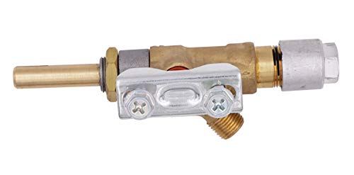 """METER STAR BBQ Grill Brass Gas Safety Valves with Orkli Magnet Unit Gas Outlet with 7/16""""-20UNF Thread"""