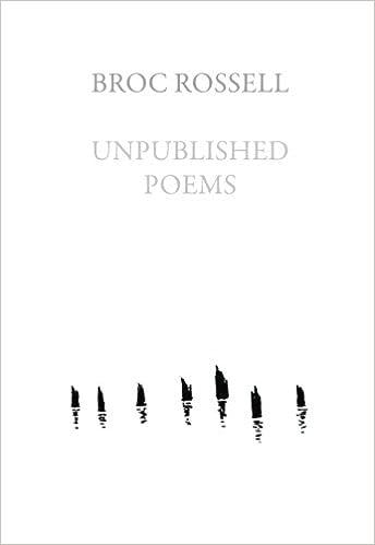 Unpublished Poems: Amazon co uk: Broc Rossell: 9781936767045