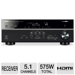 Yamaha RX-V575 7.2-Channel Network AV Receiver with Airpl...