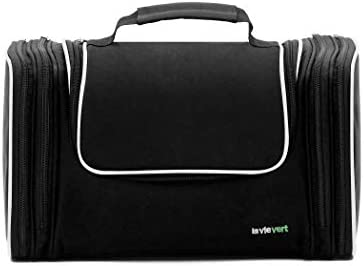 31cd1d811a82 Lavievert Toiletry Bag Makeup Organizer Cosmetic Bag Portable Travel Kit  Organizer Household Storage Pack Bathroom Storage with Hanging for  Business