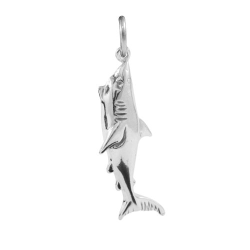 TheCharmWorks Sterling Silver Great White Shark Charm