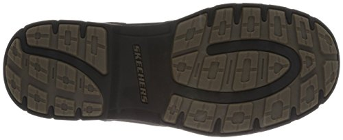 Skechers Segment Gundy - Botas para hombre Brown Leather