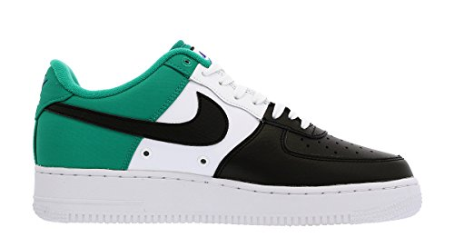 1f630d3fbf2bf Nike Air Force 1 '07 LV8 (GS) Sneakers (7 Big Kid M, Black/Deep Royal Blue)