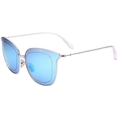 color amp; reflectante de de de Gafas protecciónn Color C B marco sol amp;Gafas Lente cine grande X226 de Gafas de sol personalizadas rwnqTtxrY6