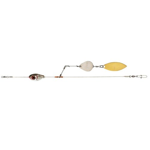 Booyah Bait Company Boo Spin Tandem Blade Rig, (0.25 Ounce Cranks)