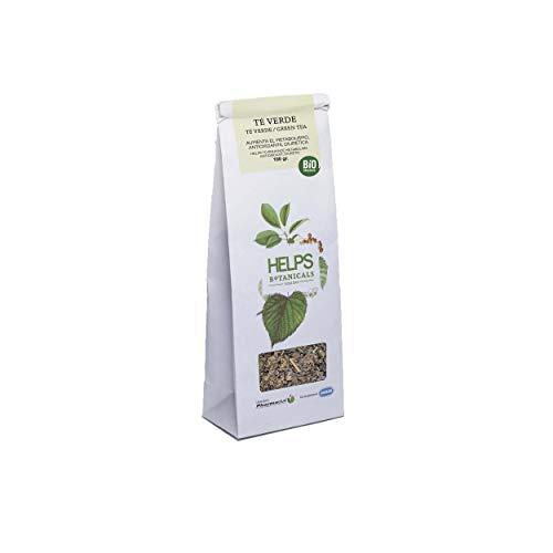 HELPS INFUSIONES - Te Verde A Granel 100% Natural Infusion Diuretica, Antioxidante, Quemagrasas Y Adelgazante Bolsa A Granel De 100 Gramos